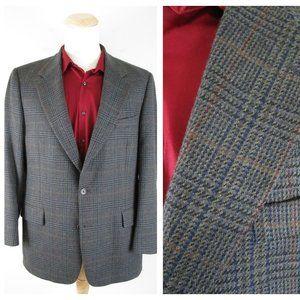Vintage Brooks Brothers Plaid Wool Sport Coat 42R